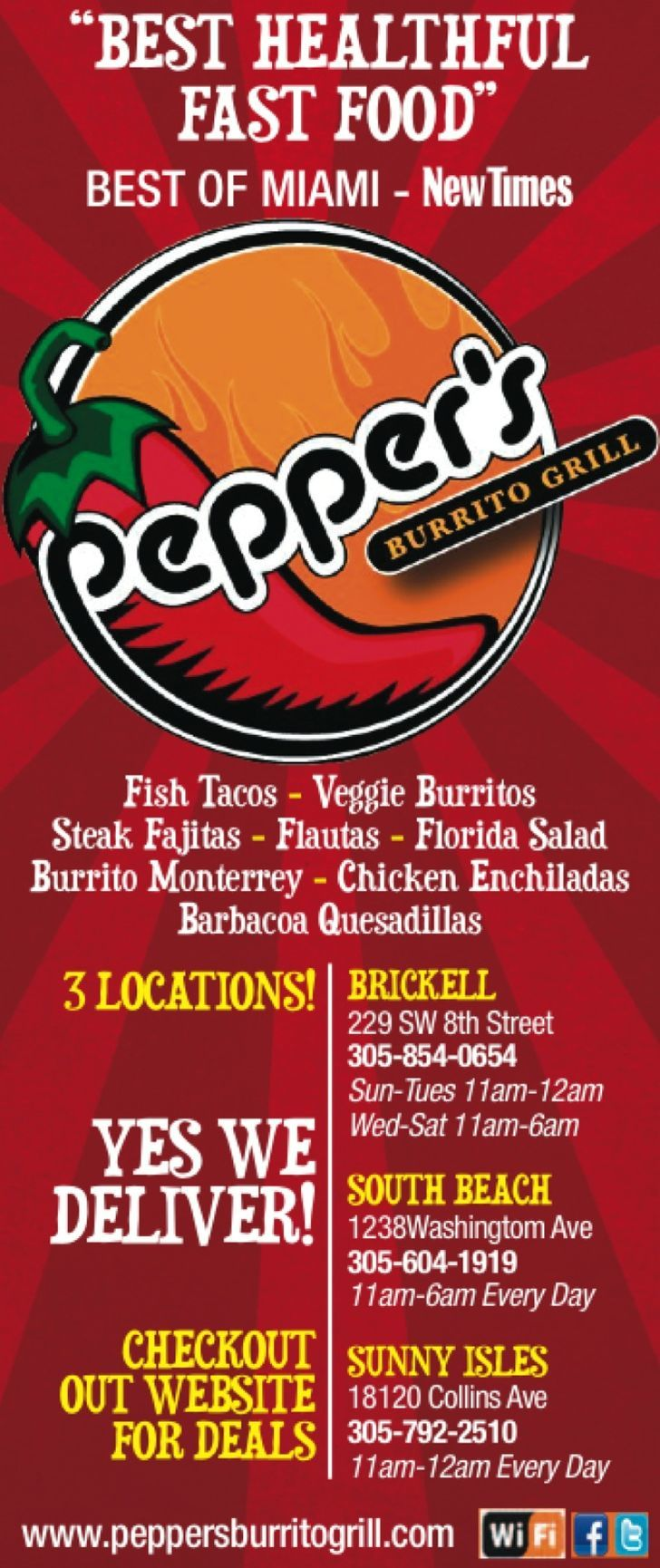 Pepper's Burrito Grill