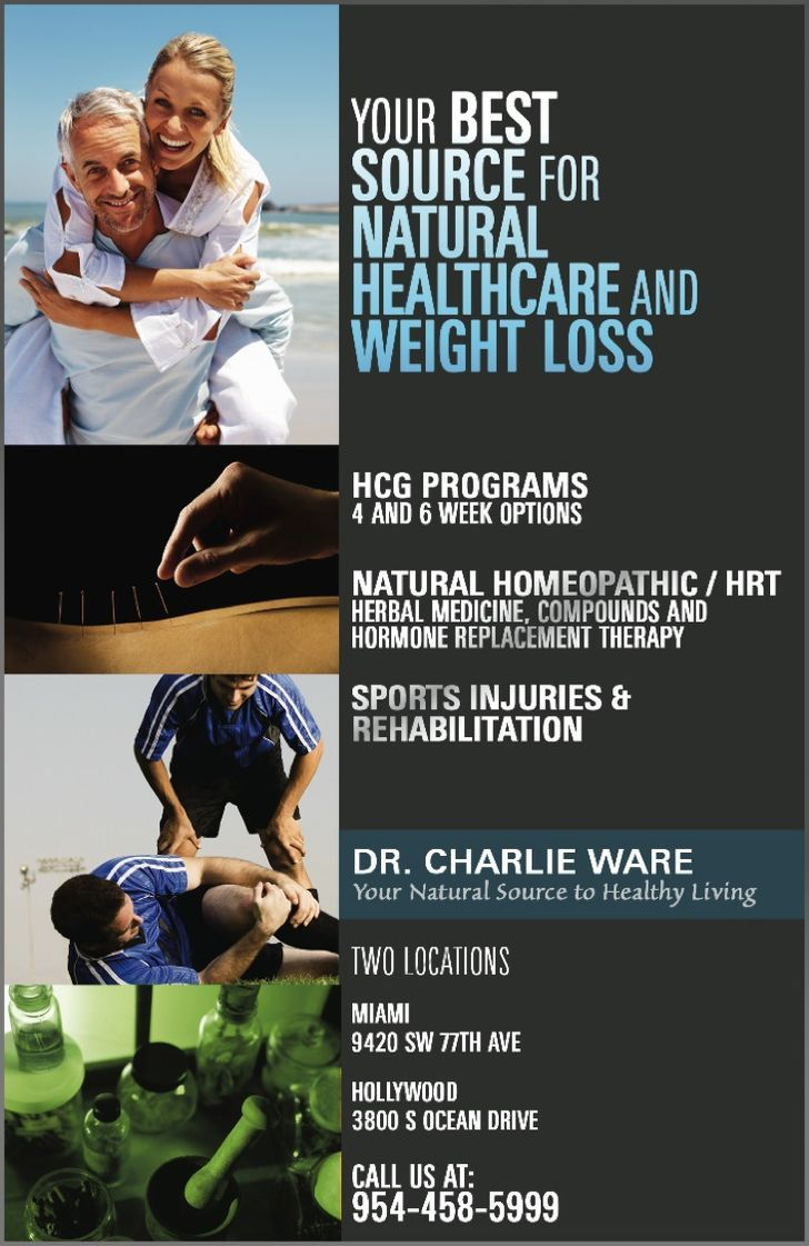 HCG Weightloss/Charlie Ware