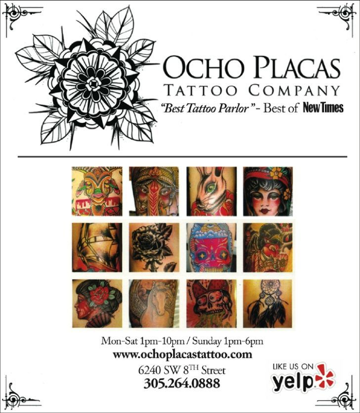 Ocho Placas Tattoos