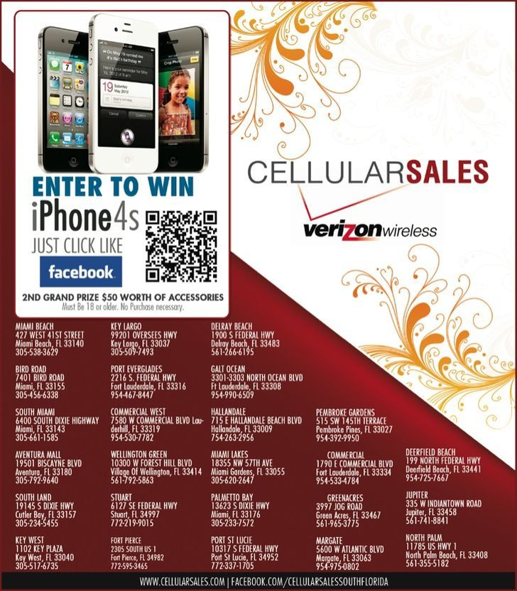Verizon Wireless - Cellular Sales S. FL