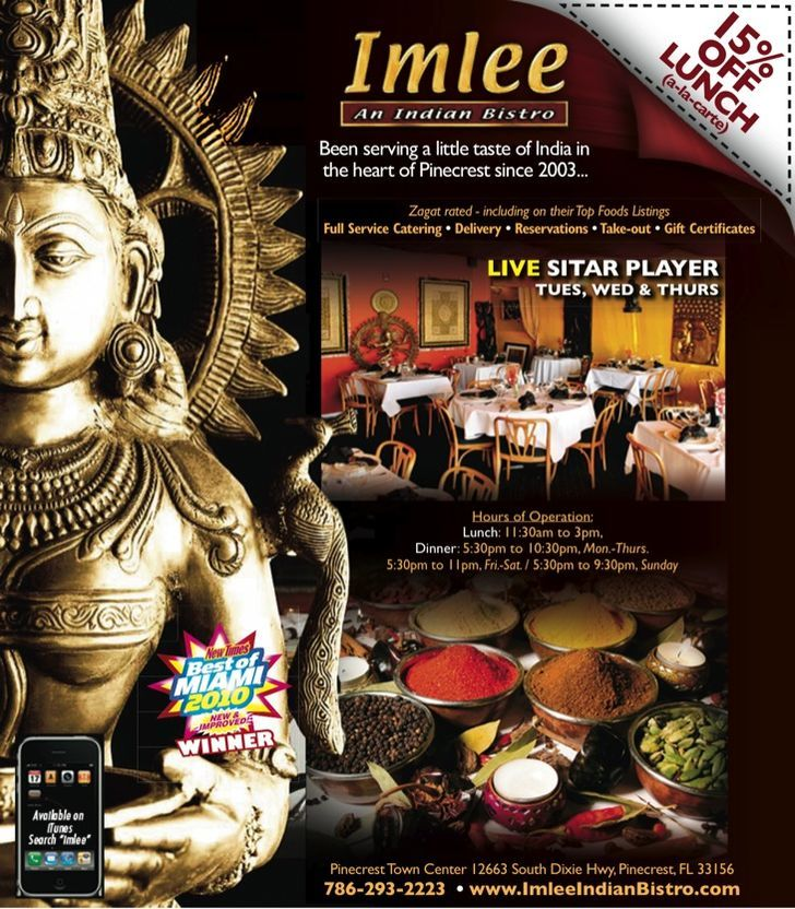 Imlee Indian Bistro