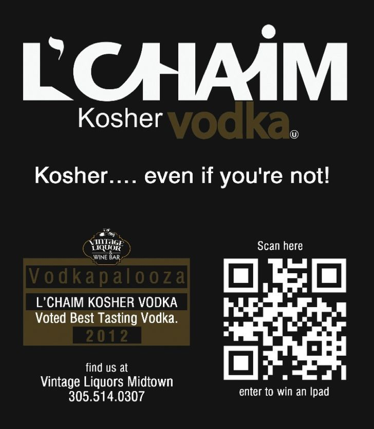L'CHAIM Kosher Vodka