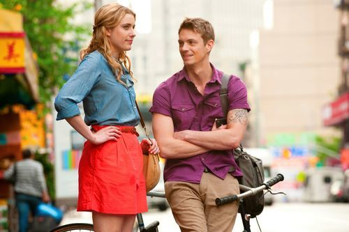 Greta Gerwig and Joel Kinnaman in Lola Versus.