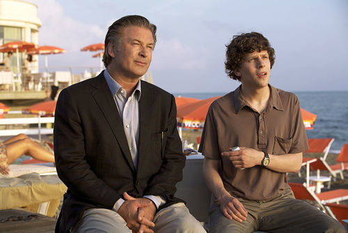 Alec Baldwin and Jesse Eisenberg