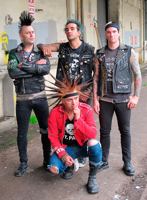 Start a righteous riot with the Casualties.