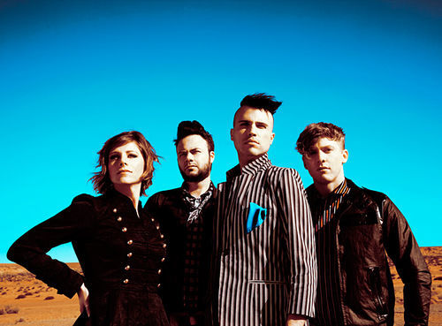 Get your caffeinated tuneage fix with Neon Trees.