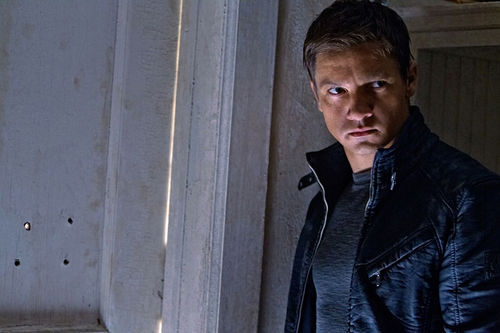 Jeremy Renner in The Bourne Legacy.