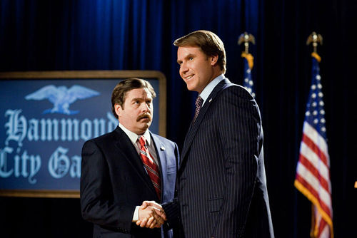 Zach Galifianakis (left) and Will Ferrell