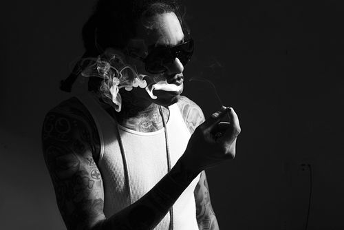 Gunplay: Ink enthusiast, expert pimp, street philosopher.