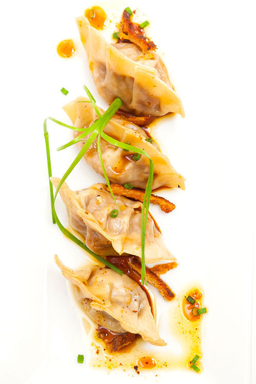 Duck pot stickers. View a photo slide show of Nemesis.