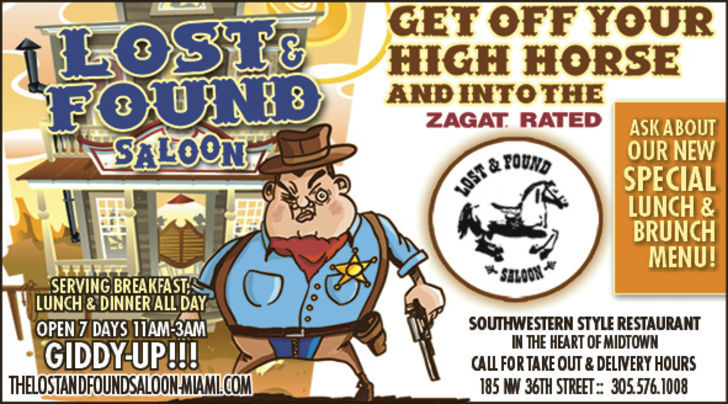 Lost & Found Saloon