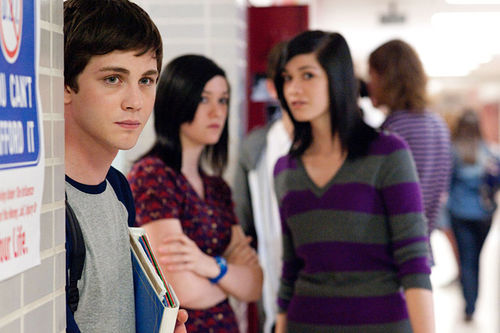 Logan Lerman plays Charlie.