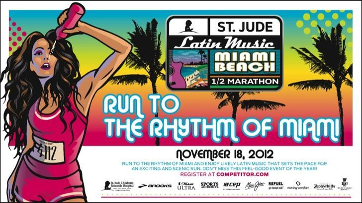 ST. Jude Miami Beach Half Marathon