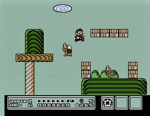 "Get hands-on with Super Mario Brothers 3 at ""The Art of Video Games."""