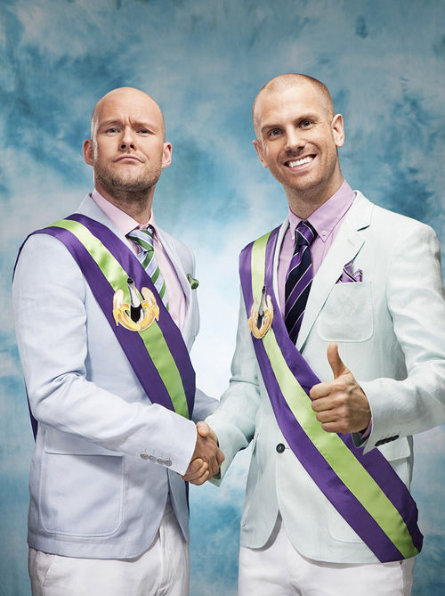 Olle and Stefan, kings of Dada Land.