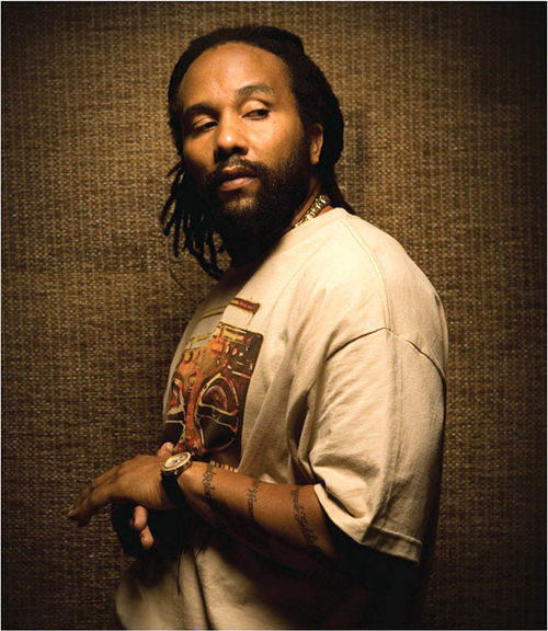 Makin' love and smokin' up with Ky-Mani Marley.