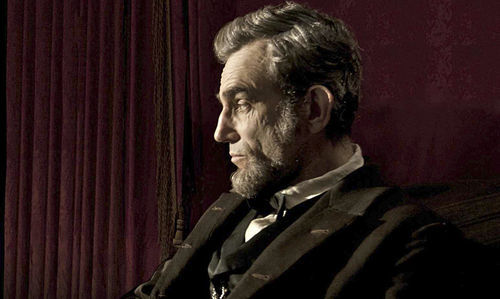 Daniel Day-Lewis stars in Lincoln.