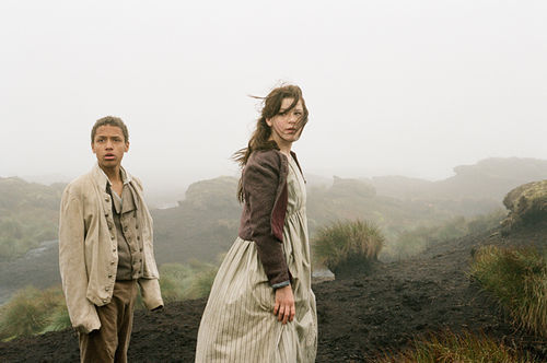 Solomon Glave and Shannon Beer in Wuthering Heights.
