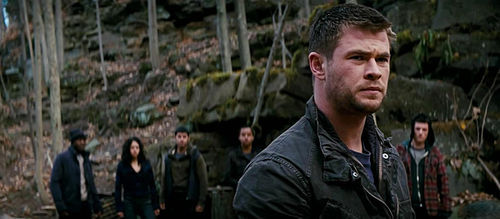 Chris Hemsworth stars as Jed Eckert in Red Dawn.