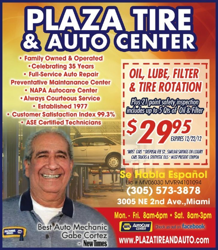 Plaza Tire and Auto