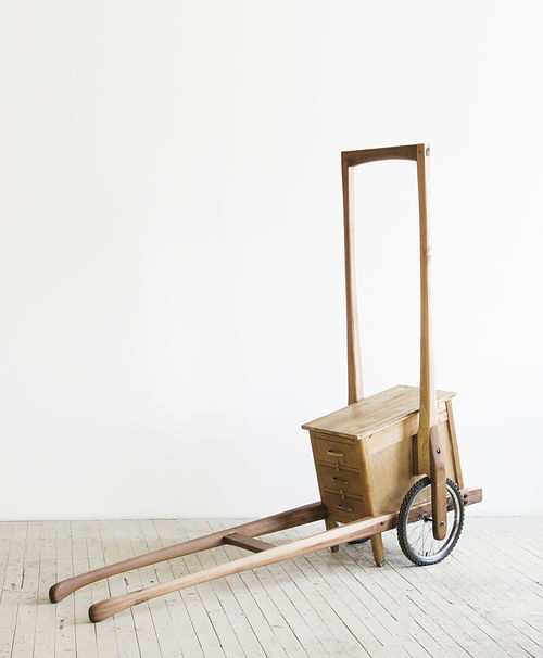 Theaster Gates, Soul Food Rickshaw for Soul Wares