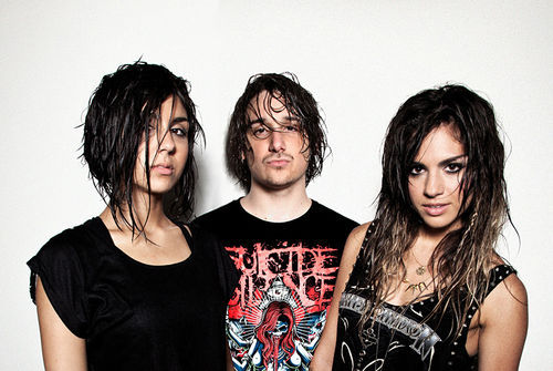 Get sweatily sexy with Krewella.