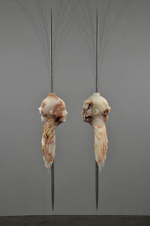Barry X Ball's Matthew Barney/BXB Dual-Dual Portrait Ensemble (2012)
