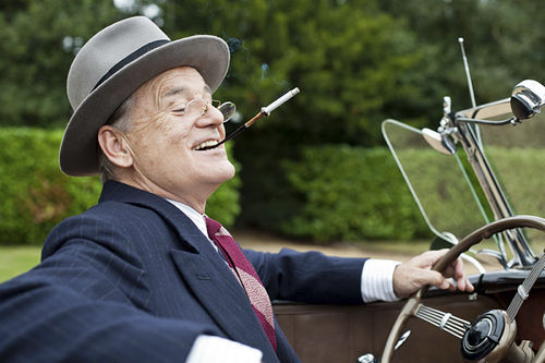 Bill Murray stars as FDR in Roger Michell's Hyde Park on Hudson.
