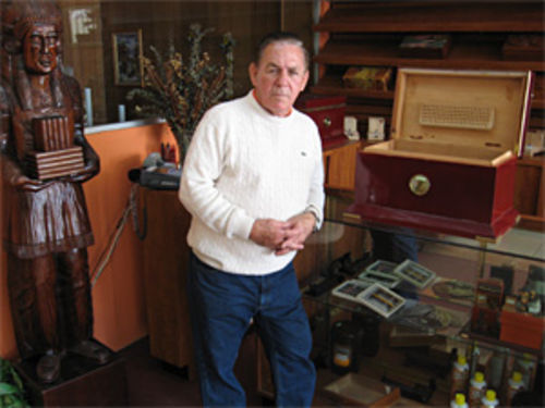 Filiberto Marimon, proprietor of Dali Tobacco Shop Inc. in Little Havana. All charges against Marimon were dropped when the feds realized he had just sold unmarked cigars, a common practice