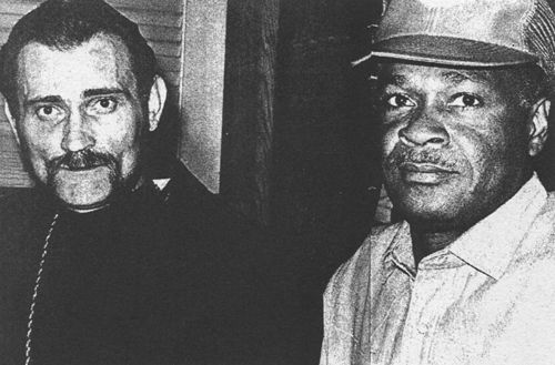 Thor planned an invasion of Haiti with Roland Magloire (right), the great-nephew of a former Haitian president.