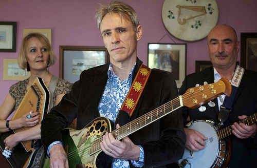 Peter at 56 in 2012 with his band the Good Intentions, from the film 56 Up.