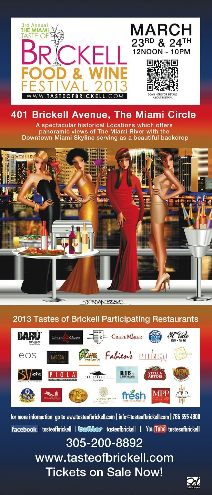 Taste of Brickell Food & Wine Festival