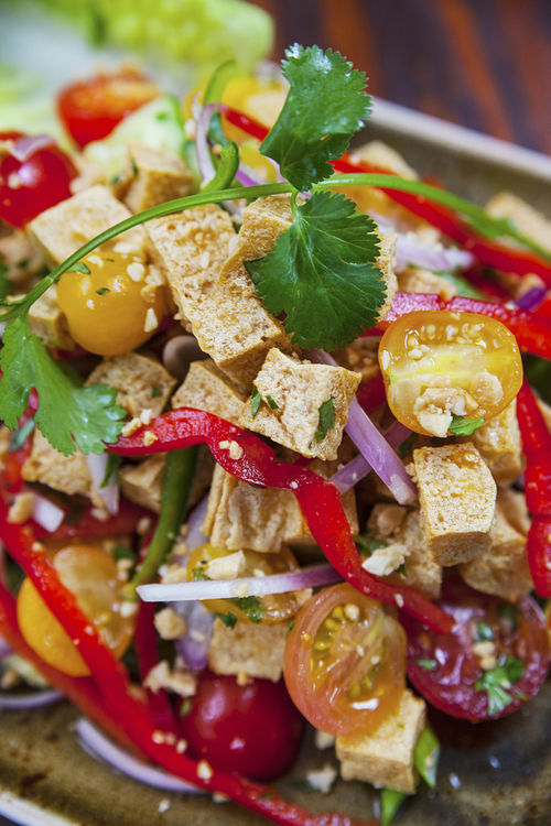 Thai tofu salad