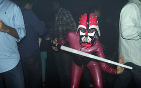 Thumbnail for <i>Star Wars</i> Cantina Cosplay at Spazio Nightclub