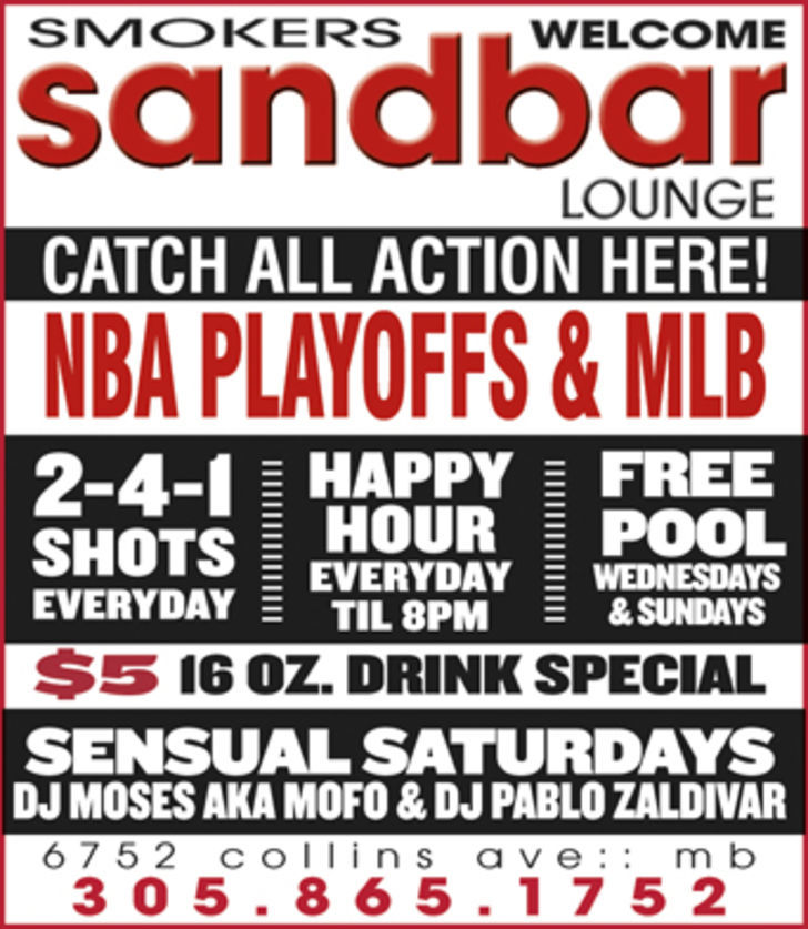 Sandbar Lounge