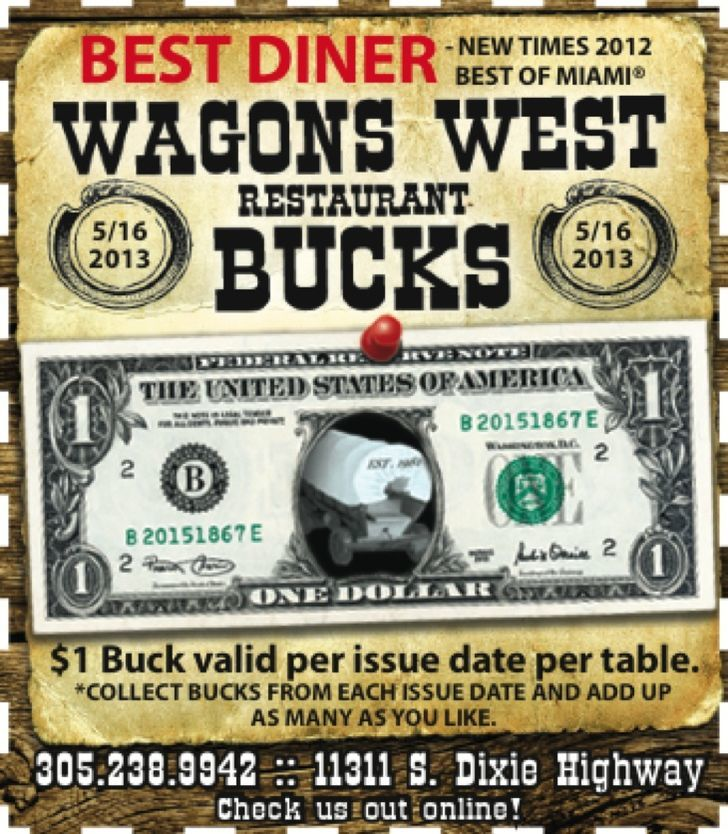 Wagon's West Restaurant