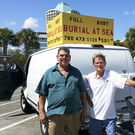 Miami Man Offers Burials at Sea for $500