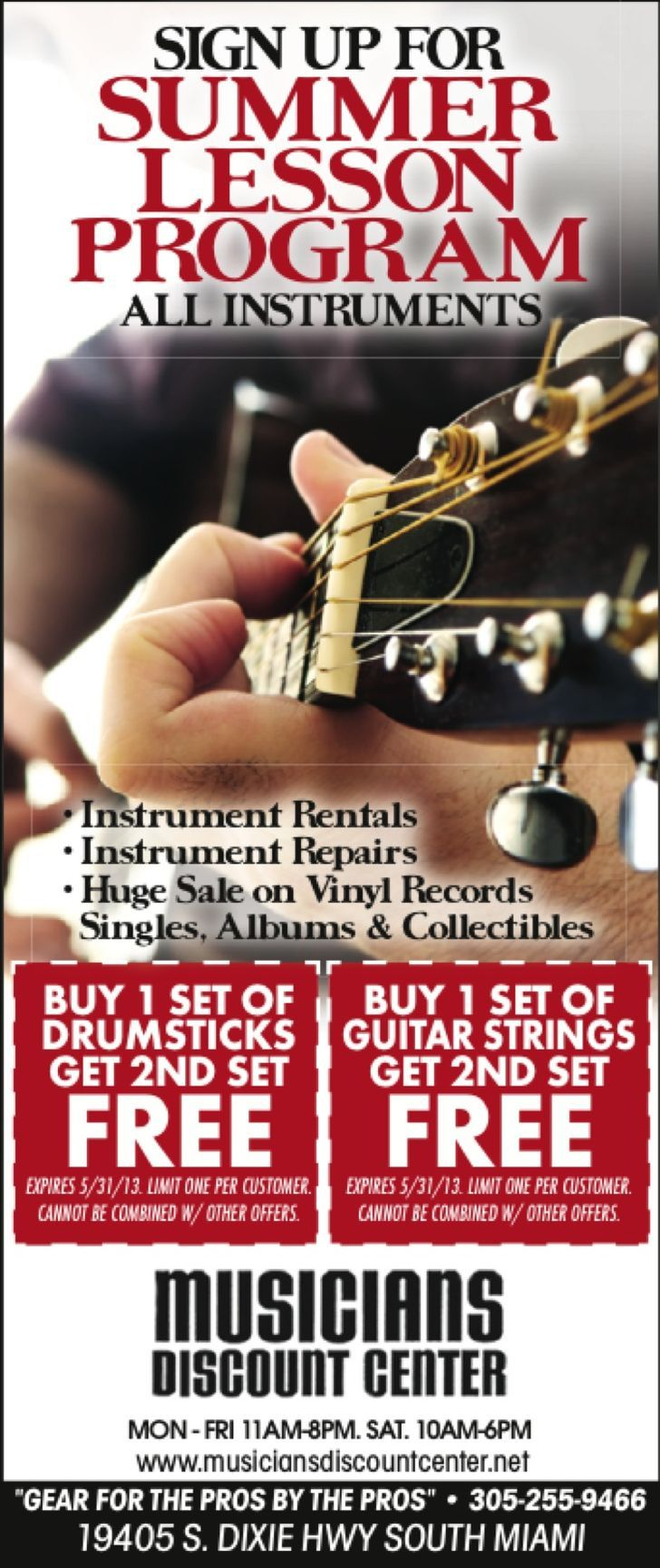 Musicians Discount Center