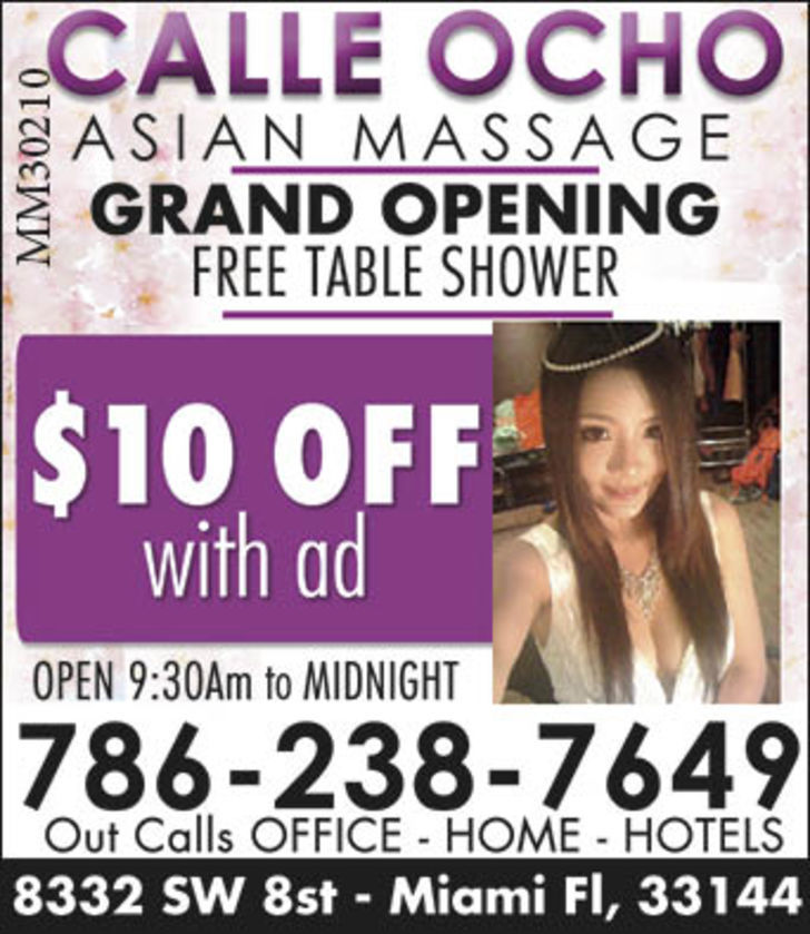 Calle Ocho Asian Massage