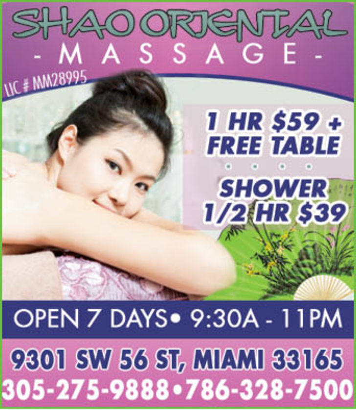 Shao Oriental Massage