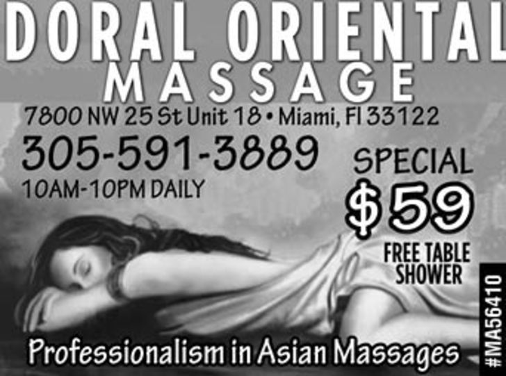 Doral Oriental Massage