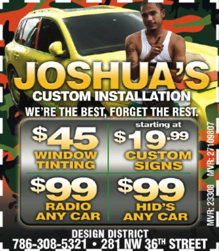 Joshua's Custom Window Tinting
