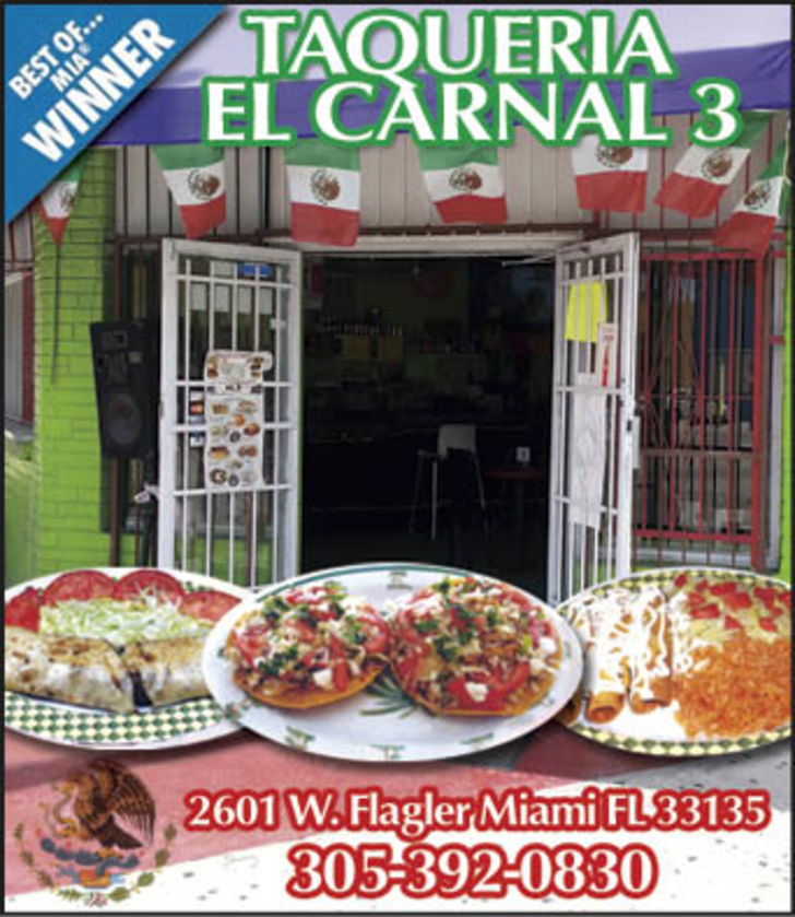 Taquerias El Carnal No. 3