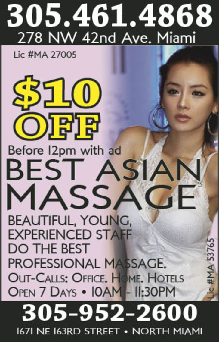 Best Asian Massage