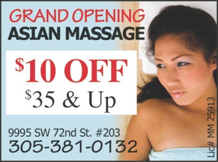 Excellent Asian Massage