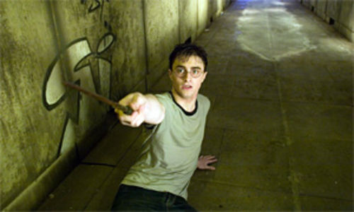 "Radcliffe: ""Don't make me use this thing!"""