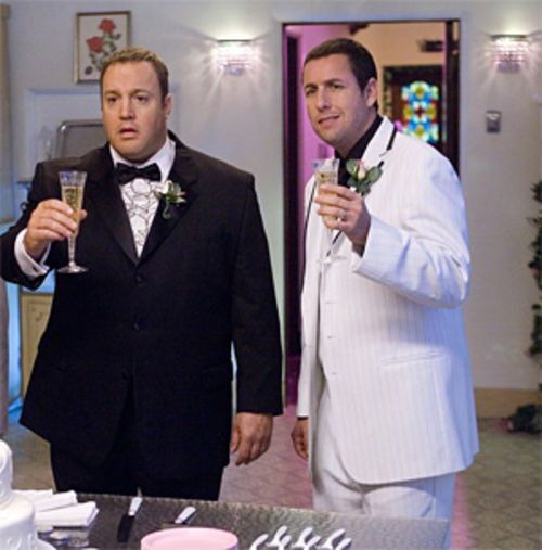 "James and Sandler: ""We're here! We're queer! We're still getting used to it."""