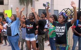 Thumbnail for Michael Brown Demonstration in Downtown Miami