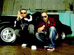 Wisin (left) and Yandel: &quot;We are living proof to other Latino kids that nothing is impossible&quot;