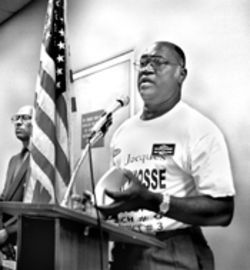 Democratic activist Jacques Despinosse is one of an unprecedented three Haitian candidates for the North Miami City Council
